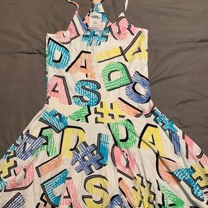 Jeremy Scott x Adidas Women's Midi Dress